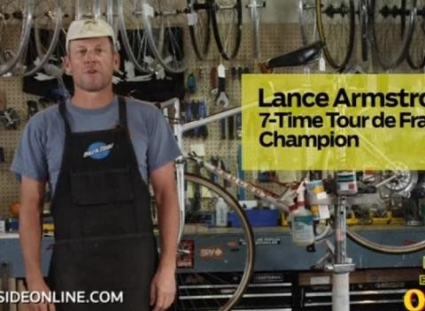 News video: Lance Armstrong Stars in Odd Instructional Video