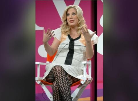 News video: Tori Spelling Reveals How She Found Out About Her Husband's Affair